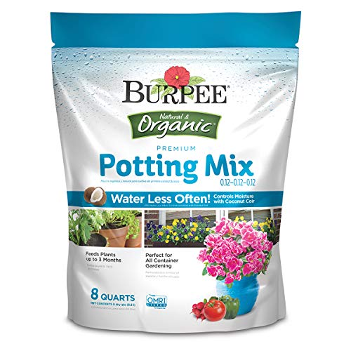 Burpee Organic Premium Potting Mix, 8 Quart