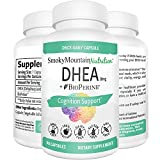 DHEA 50mg Supplement 90 Capsules (Dehydroepiandrosterone) For Body Building, Hormone Balance, Lean Muscle Mass, Bone Strength and Healthy Aging. Soy-Free, Dairy-Free, Non-GMO