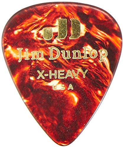 1.20mm Jim Dunlop Dunlop Celluloid Guitar Picks Extra Heavy
