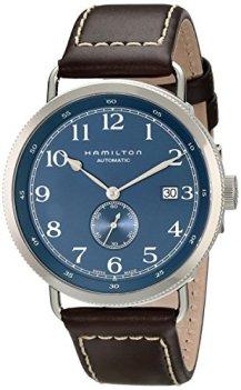 Hamilton Men's HML-H78455543 Khaki Analog Display Swiss Automatic Blue Watch