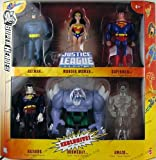 DC Super Heroes Justice League Unlimited Exclusive Action Figure 6-Pack (Superman, Wonder Woman, Batman, Bizarro, Doomsday & Clear Amazo)