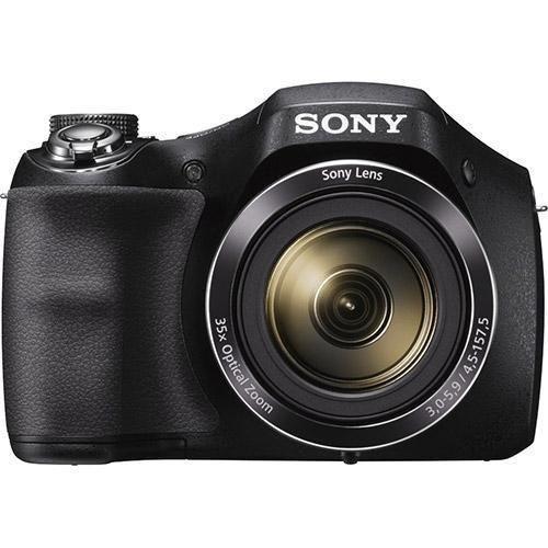 Sony Cyber-shot DSC-H300 20.1 MP Digital Camera – Black – Certified Refurbished