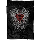 "ARLSTORE Honor Truth Superman Soft Fleece Throw Blanket, I Am Superman Fleece Luxury Blanket (Medium Blanket (60""x50""))"