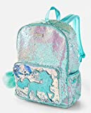 Justice sparkle bling tote UNICORN SEQUENCE BACKPACK tote back to school bag