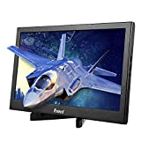 Eyoyo 13.3' inch Portable Gaming Monitor IPS Dual HDMI Display compatible with Raspberry pi Screen 1920x1080 Resolution Support 4K HDMI Input w/Built-in Speakers compatibl PC PS3 PS4 Xbox One Xbox 360