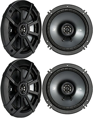 (4) KICKER 43CSC654 CSC65 6.5' 6-1/2' 1200w 4-Ohm Car Audio Coaxial Speakers