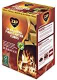 Zip Natural Firestarter Instant Light Cubes, 24 Count Pack