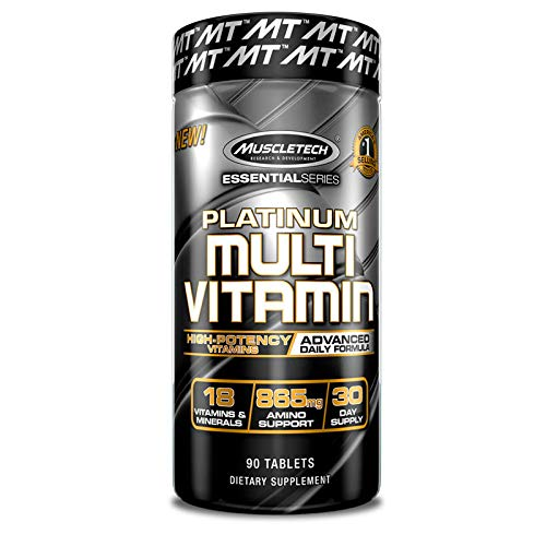 MuscleTech Advanced Multi Vitamin Formula Caplets, 90 Count