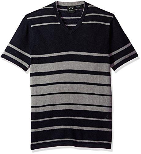 51U e RjIRL V neck Horizontal stripe pattern
