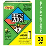 Emergen-C ElectroMix Electrolyte Replacement (Natural Lemon-Lime Flavor, 30-Count 0.14 oz. Packets)
