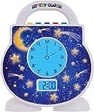 My Tot Clock My Toddler Clock, White