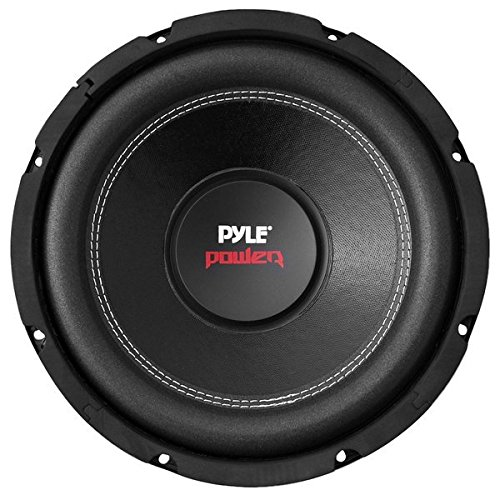 """10"""" Car Audio Speaker Subwoofer - 1000 Watt High Power Bass Surround Sound Stereo Subwoofer Speaker System - Non Press Paper Cone, 90 dB, 4 Ohm, 50 oz Magnet, 2 Inch 4 Layer Voice Coil - Pyle PLPW10D"""