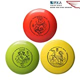 Yikun Discs Professional Disc Golf Set 3 in 1|Includes Driver,Mid-Range and Putter|165-176g|Perfect Outdoor Games for Kids and Adults