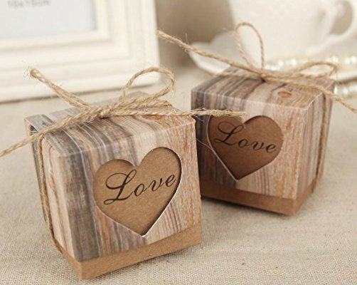 Top 10 Best Rustic Wedding Favors
