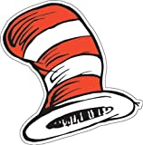 "Eureka Dr. Seuss The Cat in the Hat Paper Cut Outs for Schools and Classrooms, 36pc, 5.5"" W x 5.5"" H"