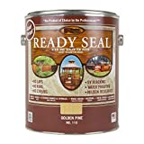 Ready Seal 110 1-Gallon Can Golden Pine Exterior Wood Stain and Sealer
