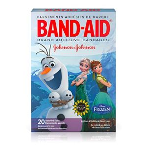 Band-Aid Adhesive Bandages, Disneys Frozen, Assorted Sizes, 20 Count – Packaging may vary 51UEzKkJwiL