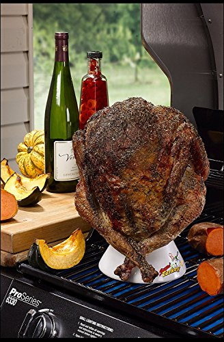 Ceramic-Steamer-Beer-Can-Turkey-Roaster-Sittin-Turkey-Marinade-Barbecue-Cooker-Infuse-delicious-BBQ-flavor