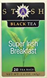 Stash Premium Black Tea Super Irish Breakfast - 20 Tea Bags