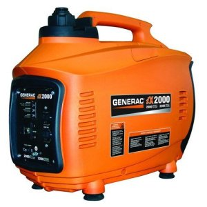 Generac iX800 800 Watt 38cc 4-Stroke OHV Gas Powered Portable Inverter Generator