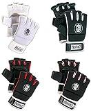 Proforce Kickboxing Fitness Gloves (Black/Red, Medium)