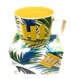 2016 HI Hawaii Tropical Yellow Starbucks Coffee Mug Cup
