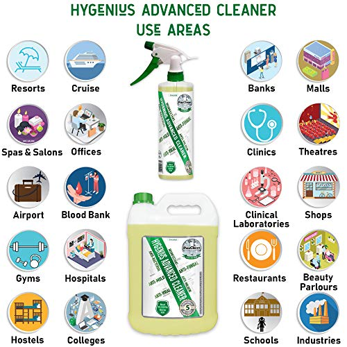 PaxClean : HyGenius Advanced Cleaner 5 L Combo with Spray Bottle 2