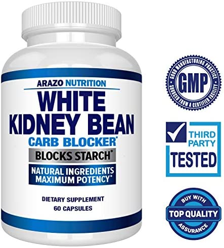 White Kidney Bean Extract - 100% Pure Carb Blocker and Fat Absorber for Weight Loss - Intercept Carbs – Arazo Nutrition 4
