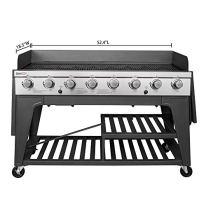 Royal-Gourmet-GB8000-8-Burner-Liquid-Propane-Event-Gas-Grill-BBQ-Picnic-or-Camping-Outdoor-Black