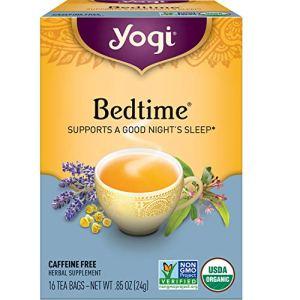 Yogi Tea – Bedtime (6 Pack) – Supports a Good Night's Sleep – 96 Tea Bags