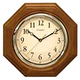 Chaney Instruments Chaney 46101A1 12 inch Octagon Wood Clock