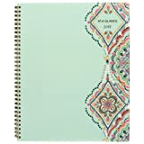 """AT-A-GLANCE Weekly / Monthly Planner, January 2018 - December 2018, 8-1/2"""" x 11"""", Marrakesh, Light Green (182-905)"""