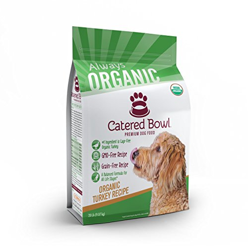 Catered Bowl Dog Food Organic Turkey 1