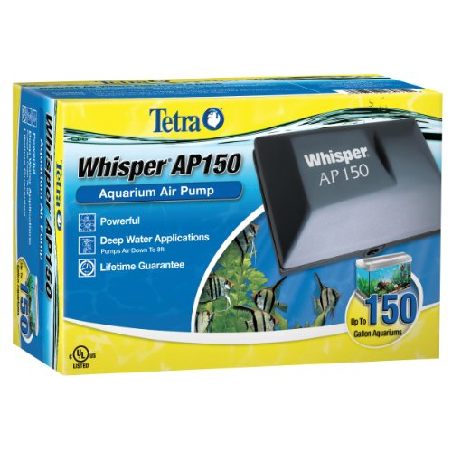 Tetra Whisper Air Pump for Deep Water Aquariums