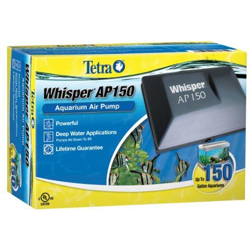 Tetra Whisper Air Pump for Deep Water Aquariums
