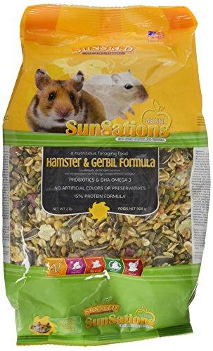 Sunseed Company 36058 1 Piece Sunsations Natural Hamster/Gerbil Formula Food Treat, 2 Lb