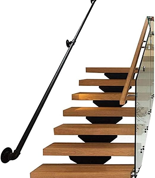 Amazon Com Lyhxxx Stair Banister Handrails Handrails For Stairs | Antique Handrails For Stairs | Newel Posts | Wrought Iron Stair | Antique Wood | Antique Green | Wood