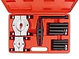 ABN Bearing Separator Set, 5-Ton Capacity - Bar-Type Bearing Splitter, Gear Puller, Fly Wheel Separator 12-Piece Kit