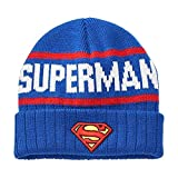 Men's DC Comics Superman Knit Cap  One Size Fits Most Blue  Multi One size fits most
