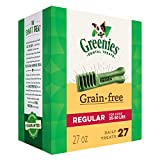 GREENIES Grain-free Regular Size Dog Dental Chews - 27 Ounces 27 Treats