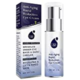 Anti-Aging Rapid Reduction Eye Cream by TEREZ & HONOR - Visibly and Instantly Reduces Wrinkles, Under-Eye Bags, Dark Circles in 120 Seconds, Hydrates & Lifts Skin