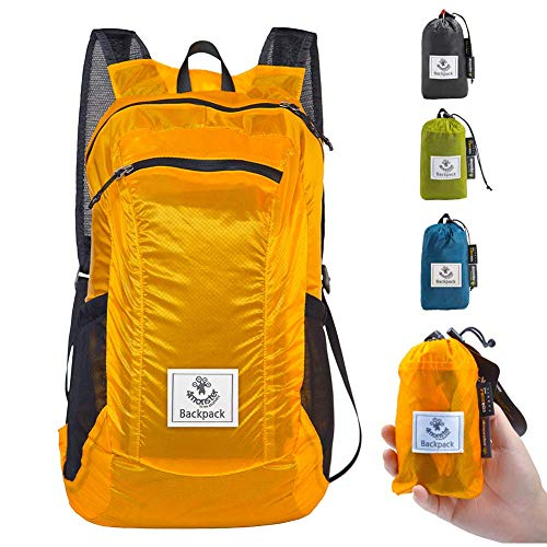 4Monster Hiking Daypack,Water Resistant Lightweight Packable Backpack for...