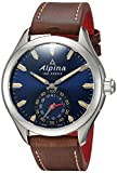 Alpina Men's AL-285NS5AQ6 HOROLOGICAL Smart Watch Analog Display Quartz Brown Watch