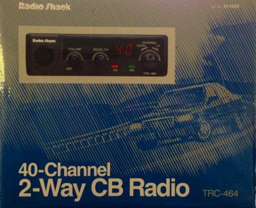 Radio Shack 40-Channel 2-Way CB Radio TRC-464