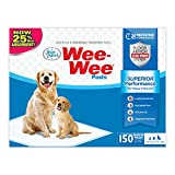 Wee Wee Puppy Pee Pads for Dogs | 150 Count | Puppy Training Pads for Dogs | Standard Size Pads 'packaging may vary'
