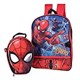 Marvel Spiderman Backpack Combo Set - Marvels Spiderman 2 Piece Backpack School Set