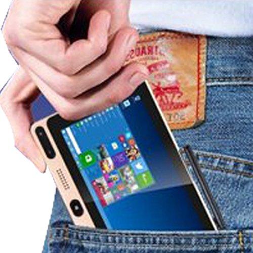 GOLE GOLE1 デュアルOS タッチパネルモニター付き ミニPC - 5 inch スクリーン , 720 x 1280 , Windows 10 / Android 5.1 , RAM: 4GB , ROM: 64GB , 4K ストリーミング メディア プレイヤー , Intel Cherry Trail Z8300 Quad-core Bluetooth 4.0 2.4GHz / 5GHz , デュアルバンド WiFi with タッチパネル [並行輸入品]