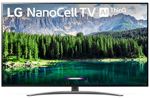 LG 65SM8600PUA Nano 8 Series 65' 4K Ultra HD Smart LED NanoCell TV (2019), Black