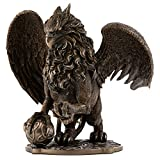 Top Collection Celtic Griffin Statue- Protector of Treasures and Priceless Possessions Gryphon Sculpture in Cold Cast Bronze-9.5-Inch King of The Creatures-Powerful and Majestic Figurine