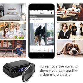 Hidden-Camera-Clock-Spy-Camera-WiFi-Wireless-Full-HD-1080P-Security-Camera-Night-Vision-Motion-Activated-Indoor-Outdoor-Small-Nanny-Cam-for-Cars-Home-Apartment